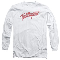 Ted Nugent - Mens Clean Logo Long Sleeve T-Shirt