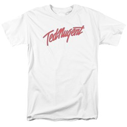 Ted Nugent - Mens Clean Logo T-Shirt