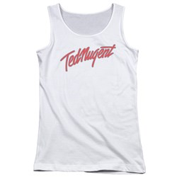 Ted Nugent - Juniors Clean Logo Tank Top