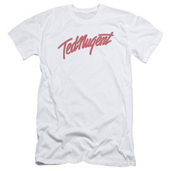 Ted Nugent - Mens Clean Logo Slim Fit T-Shirt