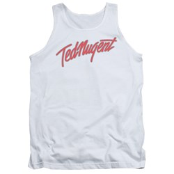Ted Nugent - Mens Clean Logo Tank Top