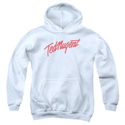 Ted Nugent - Youth Clean Logo Pullover Hoodie