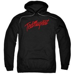 Ted Nugent - Mens Distress Logo Pullover Hoodie