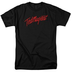 Ted Nugent - Mens Distress Logo T-Shirt