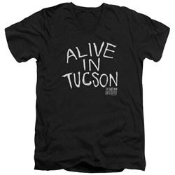 Last Man On Earth - Mens Alive In Tucson V-Neck T-Shirt