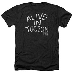 Last Man On Earth - Mens Alive In Tucson Heather T-Shirt