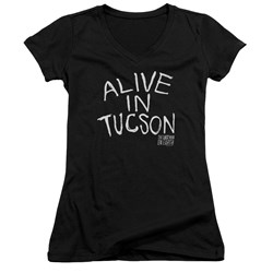 Last Man On Earth - Juniors Alive In Tucson V-Neck T-Shirt