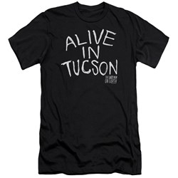 Last Man On Earth - Mens Alive In Tucson Premium Slim Fit T-Shirt