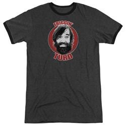 Last Man On Earth - Mens Friggin Turd Ringer T-Shirt