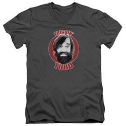Last Man On Earth - Mens Friggin Turd V-Neck T-Shirt