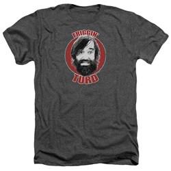 Last Man On Earth - Mens Friggin Turd Heather T-Shirt