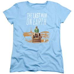 Last Man On Earth - Womens Phil On Chair T-Shirt