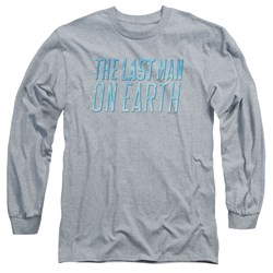 Last Man On Earth - Mens Logo Long Sleeve T-Shirt