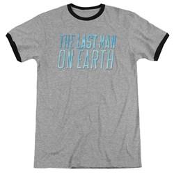 Last Man On Earth - Mens Logo Ringer T-Shirt
