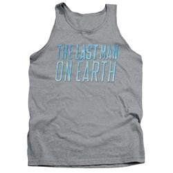 Last Man On Earth - Mens Logo Tank Top