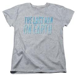 Last Man On Earth - Womens Logo T-Shirt
