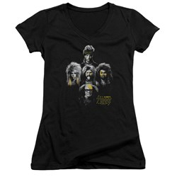 Its Always Sunny In Philadelphia - Juniors Rocker Heads V-Neck T-Shirt