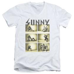 Its Always Sunny In Philadelphia - Mens Rock Photos V-Neck T-Shirt
