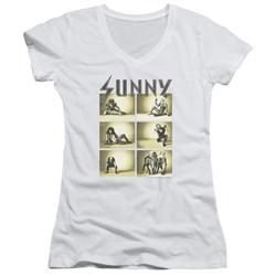 Its Always Sunny In Philadelphia - Juniors Rock Photos V-Neck T-Shirt