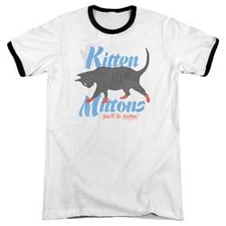 Its Always Sunny In Philadelphia - Mens Kitten Mittons Ringer T-Shirt