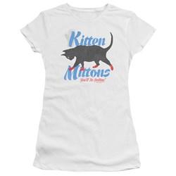 Its Always Sunny In Philadelphia - Juniors Kitten Mittons T-Shirt