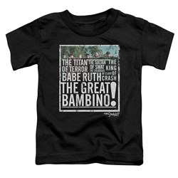 Sandlot - Toddlers The Great Bambino T-Shirt