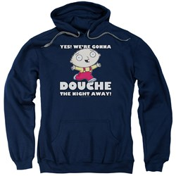 Family Guy - Mens Douche The Night Away Pullover Hoodie