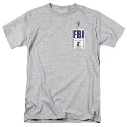 X-Files - Mens Mulder Badge T-Shirt