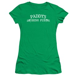 Its Always Sunny In Philadelphia - Juniors Paddys Logo Premium Bella T-Shirt