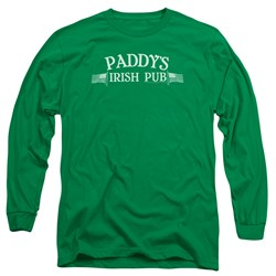 Its Always Sunny In Philadelphia - Mens Paddys Logo Long Sleeve T-Shirt