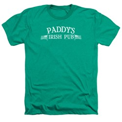 Its Always Sunny In Philadelphia - Mens Paddys Logo Heather T-Shirt
