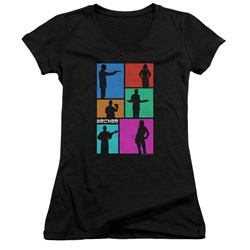 Archer - Juniors Silhouettes V-Neck T-Shirt