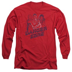 Archer - Mens Danger Zone Long Sleeve T-Shirt
