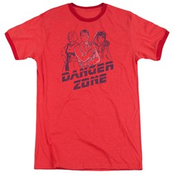Archer - Mens Danger Zone Ringer T-Shirt