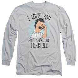 Bobs Burgers - Mens Love You Terribly Long Sleeve T-Shirt