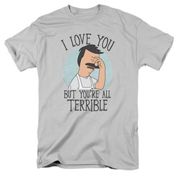 Bobs Burgers - Mens Love You Terribly T-Shirt