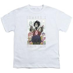 Edward Scissorhands - Big Boys Salon T-Shirt