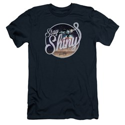 Firefly - Mens Stay Shiny Premium Slim Fit T-Shirt