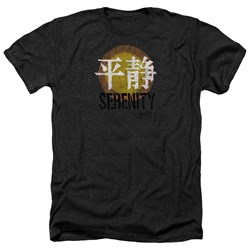 Firefly - Mens Serenity Logo Heather T-Shirt