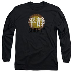 Firefly - Mens Serenity Logo Long Sleeve T-Shirt