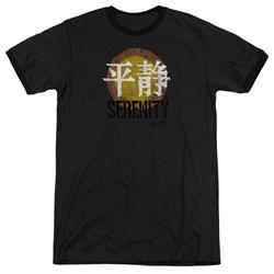 Firefly - Mens Serenity Logo Ringer T-Shirt