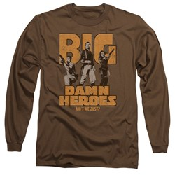 Firefly - Mens Big Damn Heroes Long Sleeve T-Shirt