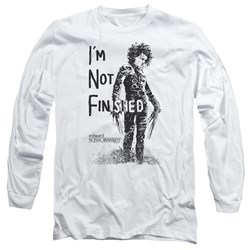 Edward Scissorhands - Mens Not Finished Long Sleeve T-Shirt