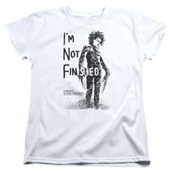 Edward Scissorhands - Womens Not Finished T-Shirt
