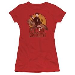 Firefly - Juniors I Aim To Misbehave Premium Bella T-Shirt