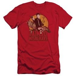 Firefly - Mens I Aim To Misbehave Premium Slim Fit T-Shirt