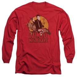Firefly - Mens I Aim To Misbehave Long Sleeve T-Shirt