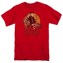 Firefly - Mens I Aim To Misbehave T-Shirt