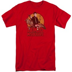 Firefly - Mens I Aim To Misbehave Tall T-Shirt