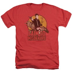 Firefly - Mens I Aim To Misbehave Heather T-Shirt